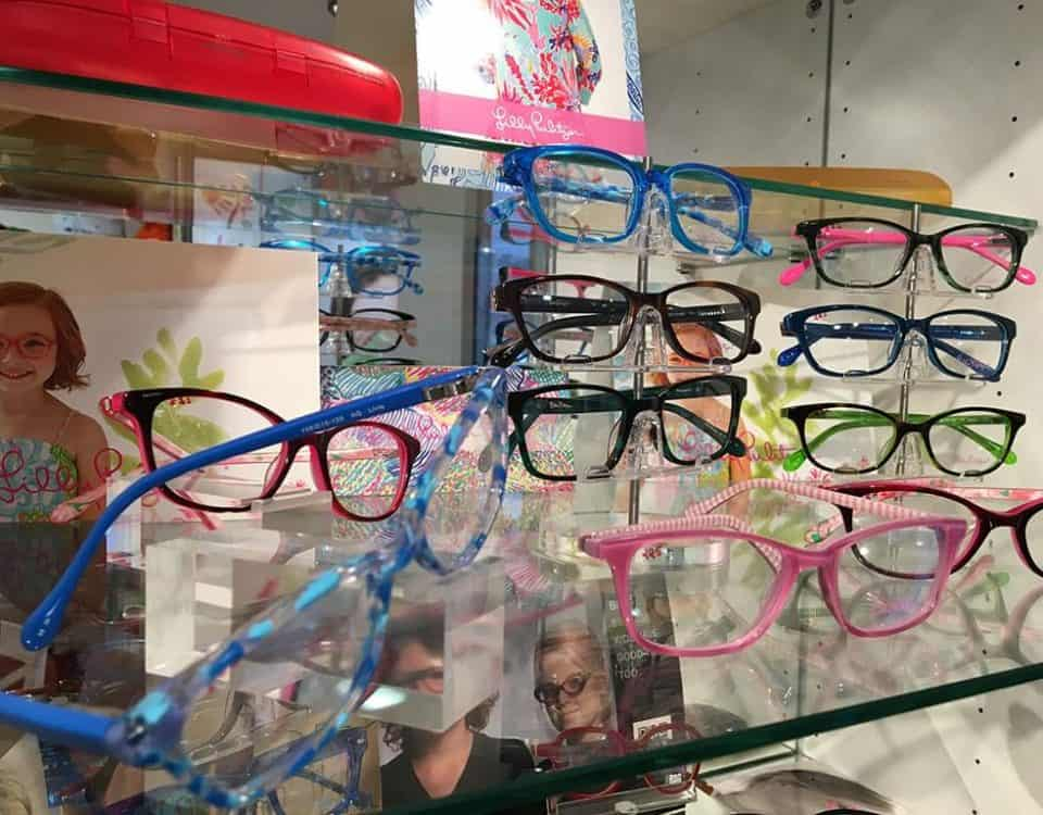 Lily Pulitzer Kid Glasses