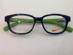 Blue & Green Nike Kids Glasses