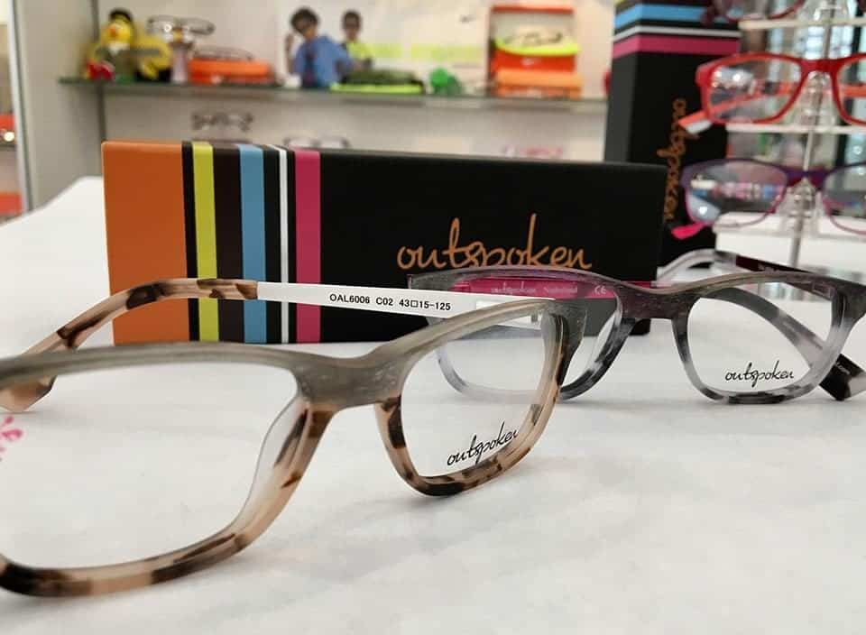 outspoken Kid Glasses