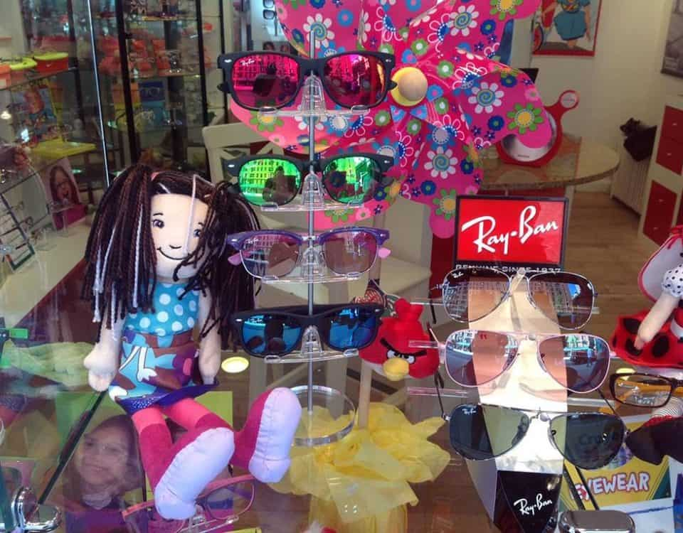 Ray-Ban Kids Glasses Window Display