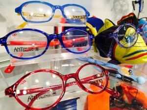 Blue & Red Swing Kids Glasses
